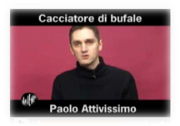 Scfreenshot Intervista Paolo Attivissimo su Le Iene.it