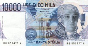 10000 lire roarinpenguinesi