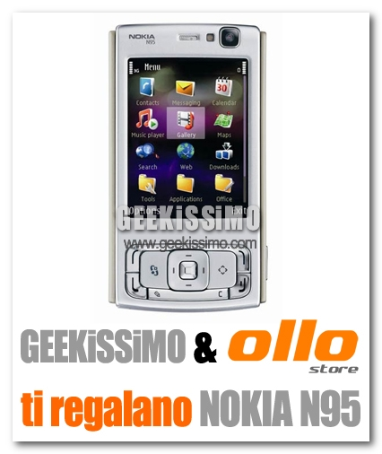 Nokia N95 in regalo