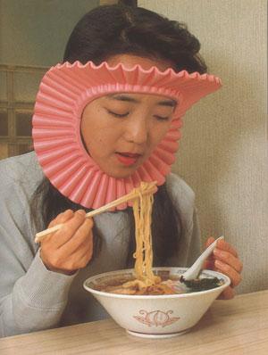 E se avete i capelli lunghi e mangiate gli spaghetti...