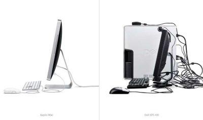 Pubblicità comparativa del nuovo iMac