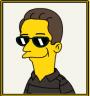 RoarinPenguin Simpsonizzato