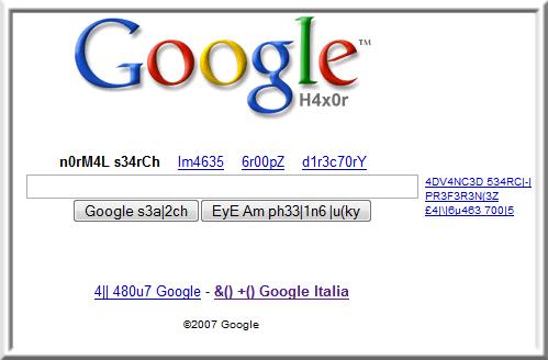 Google H4ck3r