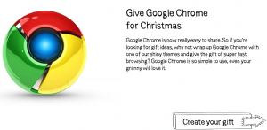 Give Chrome for Xmas